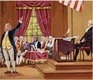 Trump Listening to Dr. Franklin