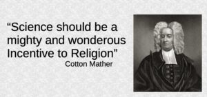 Cotton Mather on Science