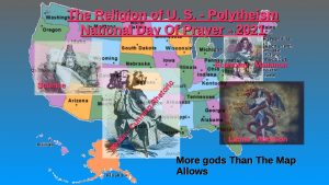 Polytheism the US Religion