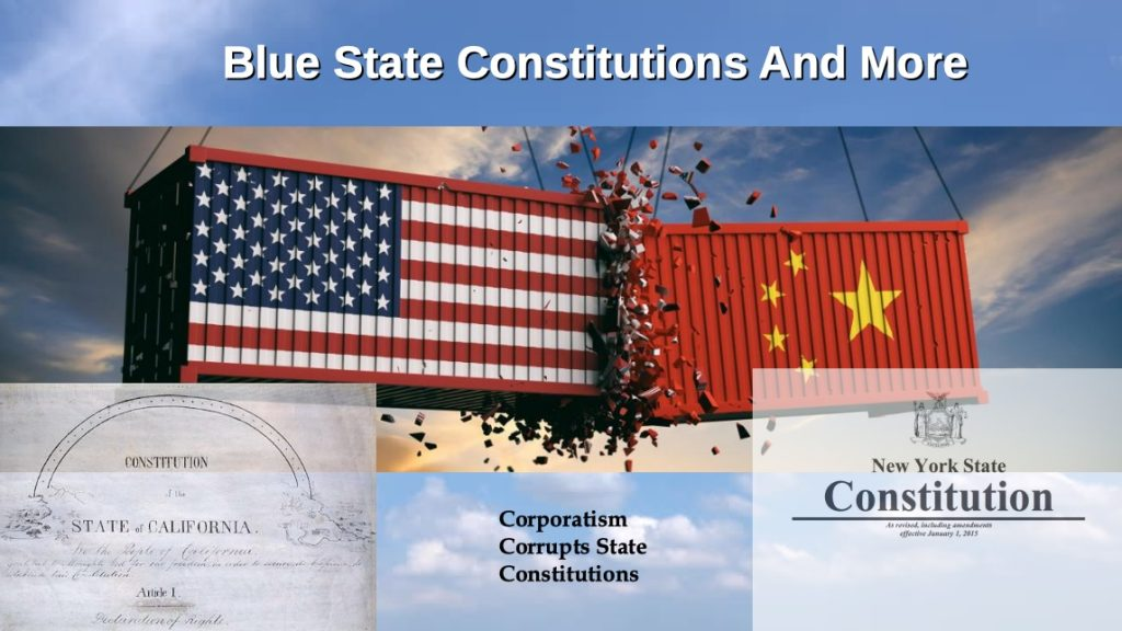 blue state constitutions